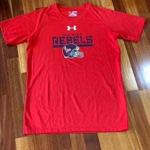 Boys UA shirt